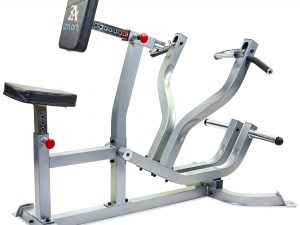 Тяга к груди с упором Zelart Seated Row Machine (металл, PVC, р-р 150x90x121см) уп. в 2ящ.