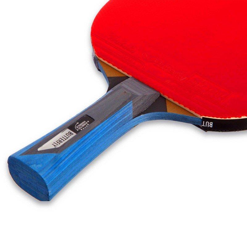 Ракетка для настольного тенниса 1 штука BUTTERFLY TIMO BOLL BLACK (древесина, резина)