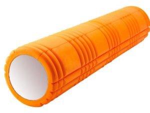 Роллер для занятий йогой и пилатесом Grid 3D Roller l-61см (d-14,5см, l-61см, цвета в ассортименте) - Цвет Оранжевый