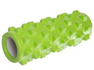 Роллер для занятий йогой и пилатесом Grid Rumble Roller l-31см (d-10см, l-31см,  цвета в ассортименте) - Цвет Салатовый