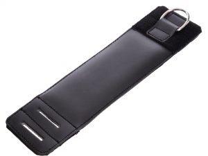 Манжет (ремень) для силовой тяги на голень и запястье Ankle Strap (PVC, металл,р-р 36х10,5см)
