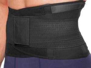 Пояс для коррекции фигуры Экстрим Пауэр Белт (extreme power belt) (р-р L-M, цвета в ассортименте) - Черный-XL (105x23см)