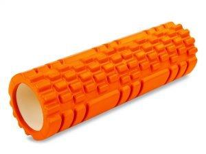 Роллер для занятий йогой и пилатесом Grid Combi Roller l-45см (d-14см, l-45см, цвета в ассортименте) - Цвет Оранжевый