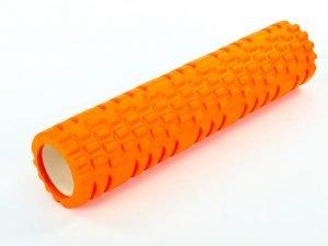 Роллер для занятий йогой и пилатесом Grid Combi Roller l-61см (d-14см, l-61см, цвета в ассортименте) - Цвет Оранжевый