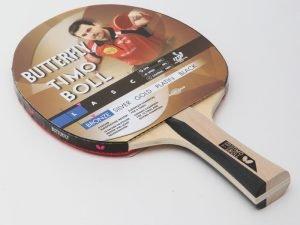 Ракетка для настольного тенниса 1 штука BUTTERFLY TIMO BOLL BRONZE (древесина, резина)