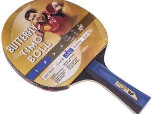 Ракетка для настольного тенниса 1 штука BUTTERFLY TIMO BOLL GOLD (древесина, резина)