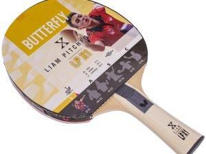 Ракетка для настольного тенниса 1 штука BUTTERFLY LIAM PITCHFORD LPX1 (древесина, резина)