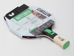 Ракетка для настольного тенниса 1 штука BUTTERFLY TIAGO APOLONIA TAX3 (древесина, резина)
