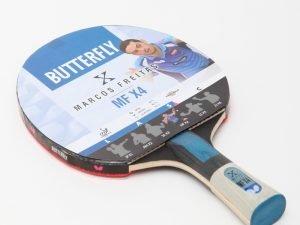 Ракетка для настольного тенниса 1 штука BUTTERFLY MARCOS FREITAS MFX4 (древесина, резина)