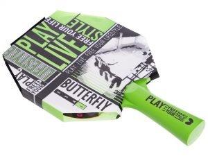 Ракетка для настольного тенниса 1 штука BUTTERFLY FREE YOUR LIFESTYLE  (древесина, резина)