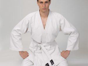 Кимоно для дзюдо белое MATSA (хлопок-плотность 450г на м2, размер 000-7, рост-110-200см) - 0 (рост 130)
