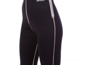 Шорты для похудения женские из композитной ткани с быстрым нагревом из серебряного волокна (M-2XL-44-52, черный) - 2XL (50-52)