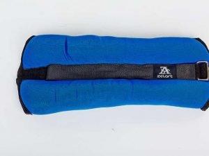 Утяжелители-манжеты для рук и ног ZEL-1 (2 x 2,0кг) (верх-неопрен, наполнитель-песок)