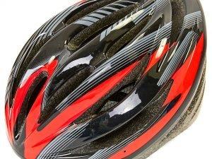 Велошлем кросс-кантри с механизмом регулировки Zelart (EPS,пластик, PVC, р-р L-M (55-61), цвета в ассортименте) - Красный-L (58-61)