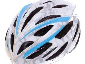 Велошлем кросс-кантри с механизмом регулировки Zelart (EPS, пластик, PVC, L-M (55-61), цвета в ассортименте) - Белый-L (58-61)