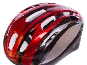 Велошлем шоссейный с механизмом регулировки Zelart (EPS, пластик, PVC, р-р S-L(53-61), цвета в ассортименте) - Красный-L (58-61)