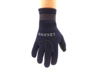 Перчатки для дайвинга LEGEND (3мм неопрен, размер M-XL-8-11, черный) - M (8-9)