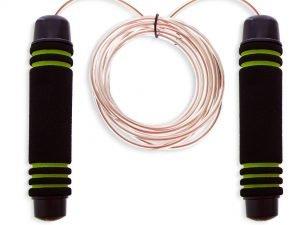 Скакалка скоростная с подшипником и стальным тросом CIMA (l-3м, d-3мм, цвета в ассортименте)