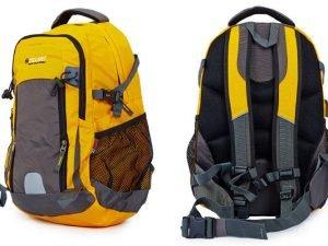 Рюкзак спортивный с жесткой спинкой Zelart (нейлон, р-р 50х33х16см, цвета в ассортименте) - Цвет Желтый