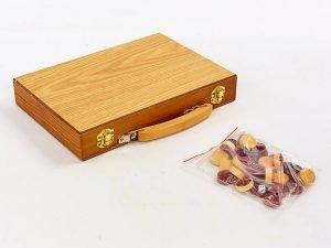 Нарды настольная игра деревянные (дерево, р-р доски 28см x 40см)