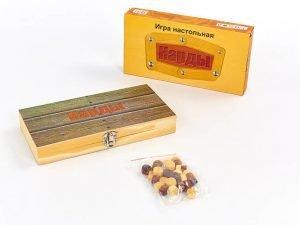Нарды настольная игра деревянные (дерево, р-р доски 24см x 24см)