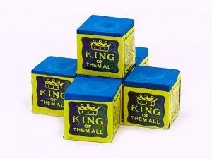 Мел для бильярда (уп. 12шт) TRIANGEL (синий, цена за 12шт) дубл.