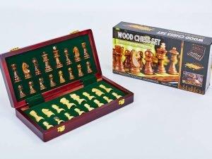 Шахматы настольная игра деревянные ZOOCEN (р-р доски 30см x 30см)