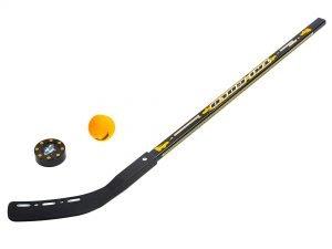 Клюшка, шайба, мяч для игры на льду и на траве (пластик, PVC)