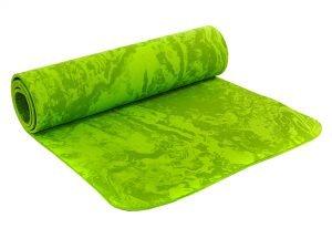 Коврик для фитнеса и йоги PER 8мм SP-Planeta (размер 1,83мx0,61мx8мм, цвета в ассортименте) - Цвет Зеленый