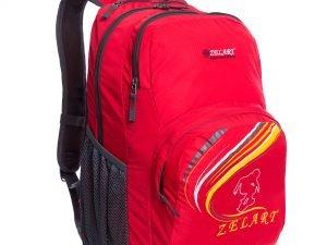 Рюкзак спортивный с жесткой спинкой Zelart (нейлон, р-р 49х30х13см, цвета в ассортименте) - Цвет Красный