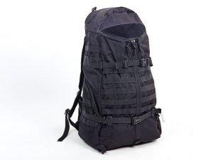 Рюкзак тактический рейдовый 55 литров SILVER KNIGHT (нейлон, оксфорд 900D, размер 64х34х21см, цвета в ассортименте) - Цвет Черный