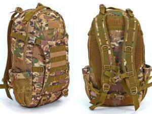 Рюкзак тактический штурмовой SILVER KNIGHT 30 литров (нейлон, оксфорд 900D, размер 49х27х18см, цвета в ассортименте) - Цвет Камуфляж Multicam