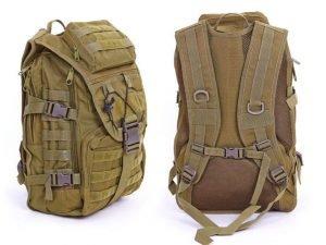 Рюкзак тактический штурмовой SILVER KNIGHT 30 литров (нейлон, оксфорд 900D, размер 45х32х15,5см, цвета в асссортименте) - Цвет Оливковый