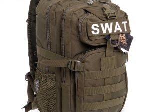 Рюкзак тактический рейдовый SILVER KNIGHT 35 литров (нейлон, оксфорд 900D, размер 42х22х35см, цвета в ассортименте) - Цвет Оливковый
