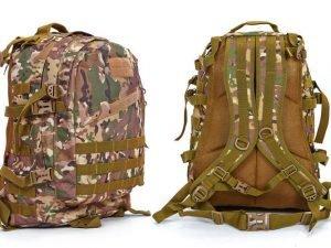 Рюкзак тактический трехдневный SILVER KNIGHT 40 литров (нейлон, оксфорд 900D, размер  47х34х17см, цвета в ассортименте) - Цвет Камуфляж Multicam