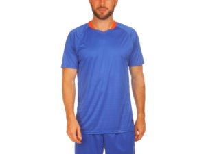 Футбольная форма (PL, р-р M-3XL, рост 155-185, синий-синий) - M, рост 155-160