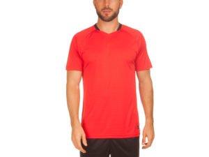 Футбольная форма (PL, р-р M-3XL, рост 155-185, красный-черный) - M, рост 155-160