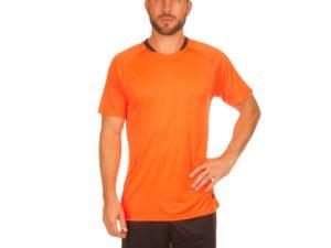 Футбольная форма (PL, р-р M-3XL, рост 155-185, оранжевый-черный) - M, рост 155-160