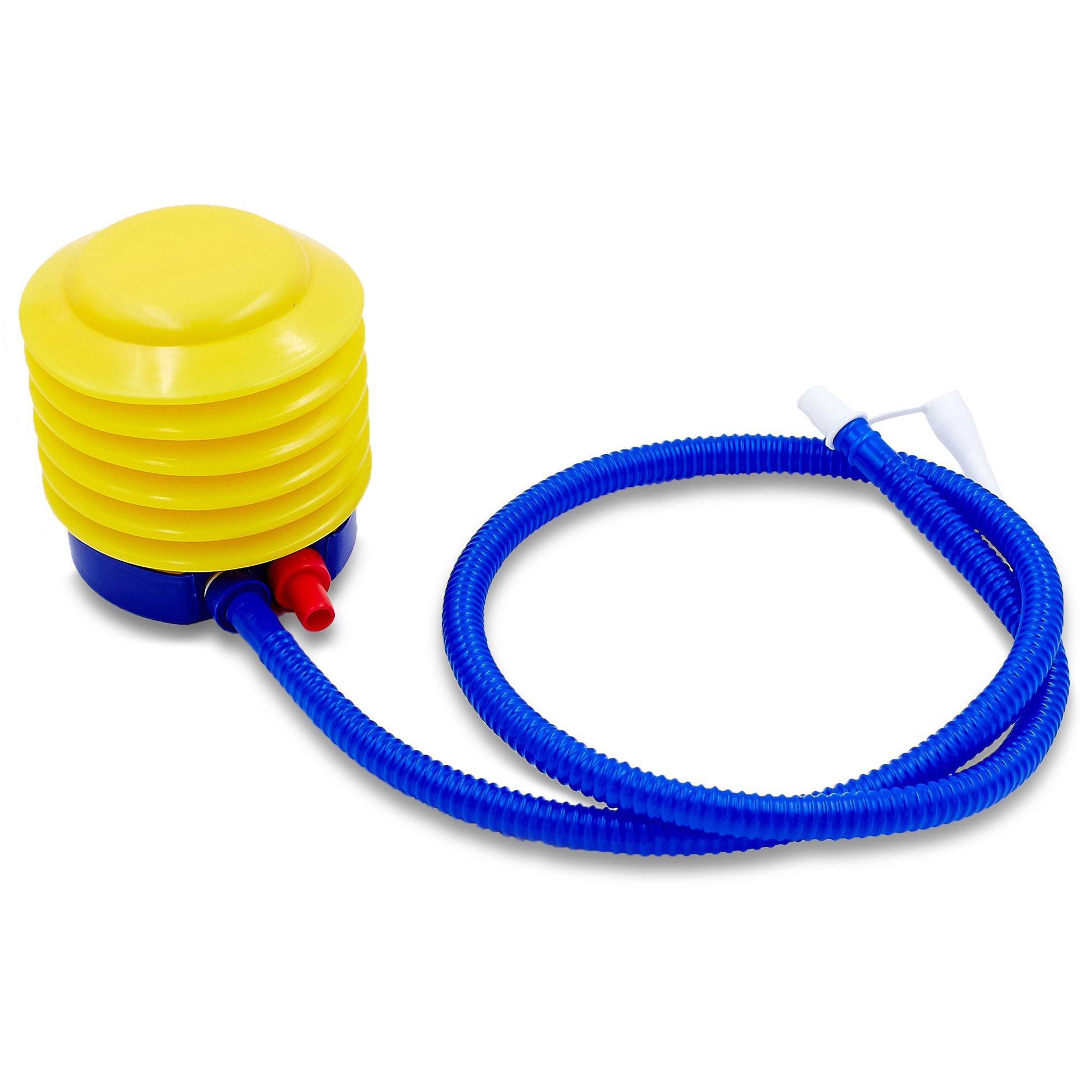 Насос ножной для фитбола (PVC, d-10см, вес-80гр)
