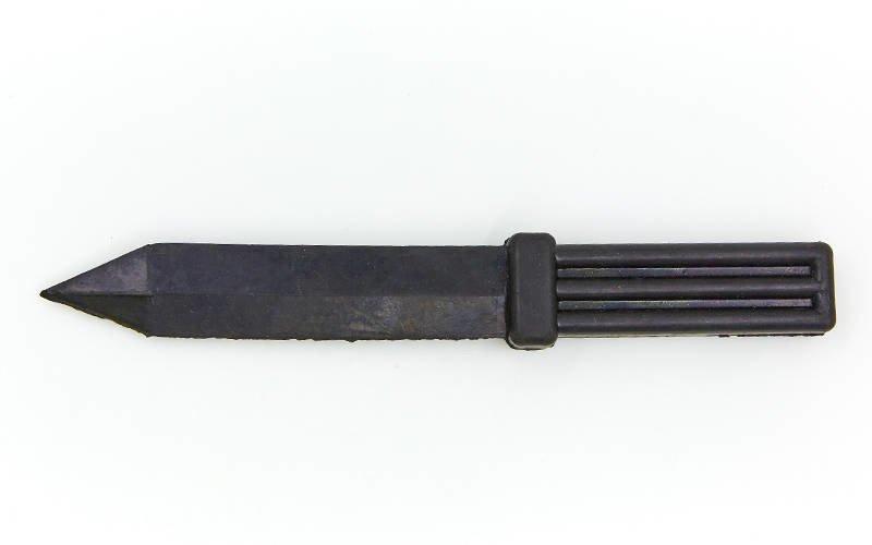 Нож тренировочный SP-Planeta UR (резина, черный)