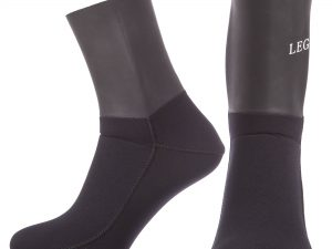 Носки для дайвинга LEGEND (3мм неопрен, размер ML-XXL-RUS-40,5-44-черный) - L (41-42)