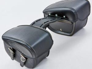 Мотосумка (2 кофра) (PVC, р-р 49*31*15см, черный)