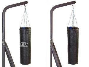 Мешок боксерский Цилиндр Кирза h-85см LEV UR (наполнит.-ветошь, d-28см, вес-20кг)