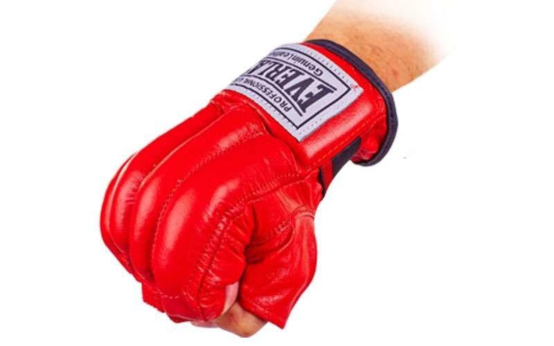 Снарядные перчатки шингарты кожаные ELS (размер M-XL, цвета в ассортименте)