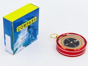 Компас жидкостный (d-50мм, металл, пластик)