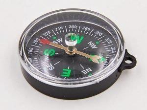 Компас магнитный (d-55мм, металл, пластик)