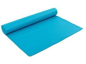 Коврик для фитнеса и йоги PVC 4мм SP-Planeta (размер 1,73мx0,61мx4мм, цвета в ассортименте) - Цвет Бирюзовый