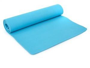 Коврик для фитнеса и йоги TPE+TC 6мм SP-Planeta (1,83мx0,61мx6мм, цвета в ассортименте) - Цвет Голубой