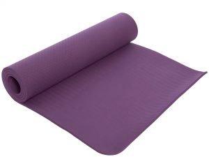Коврик для фитнеса и йоги TPE+TC 8мм SP-Planeta (размер 1,83мx0,61мx8мм, цвета в ассортименте) - Цвет Фиолетовый