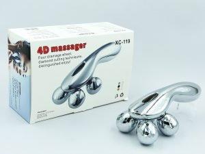 Массажер роликовый SP-Planeta 4D Massager (ABS пластик, размер 12х9х8,5см, 4 массажных шарика, вес 210г)